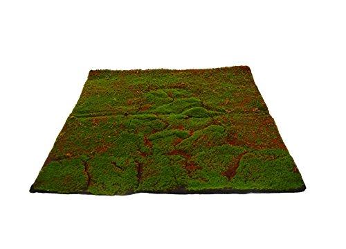 Plancha alfombra musgo artificial 96x96 cm
