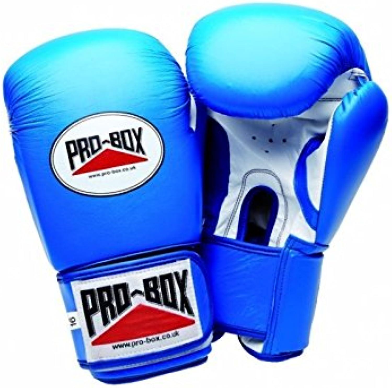 Pro Box super-spar 'Leder Sparring Handschuhe – Blau Blau Blau Sparring Training Boxen B078YWWPZX  Viel Spaß 0feced