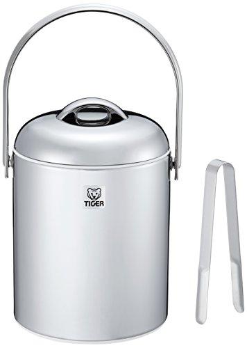 タイガー 魔法瓶 アイスペール 1.35L ステンレス 蓋 アイス トング セット IPG-140P-XS Tiger