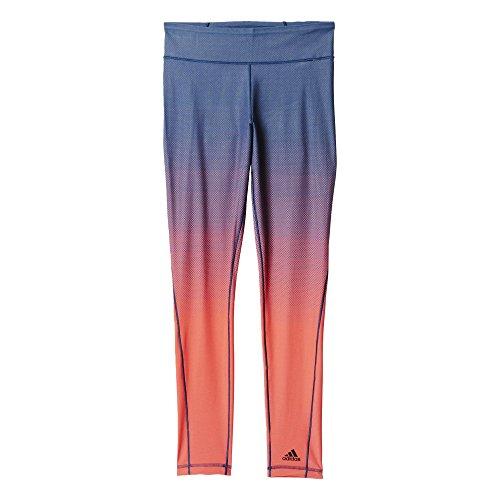 adidas Damen Leggings MIRACLE SCULPTT, Blau/Rot, S, 4055343818542