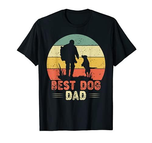 Best Dog Dad Ever Divertido perro de regalo idea de perro Camiseta