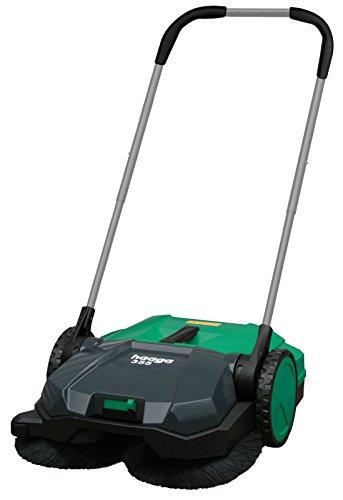 "BISSELL BigGreen BG355 Deluxe Triple Brush Push Power Sweeper, 21"", 9 gal Debris Container, 43"" Height, 21"" Width, Polypropylene, Green"