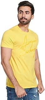 Armani Exchange Men's T-Shirt T- Yellow, M
