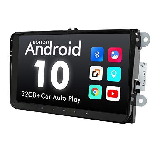 2021 Newest Car Setreo Eonon Android 10 Double Din Car Radio 32GB ROM Compatible withVolkswagen/SEAT/Skoda fit Fender System Support Apple Carplay/Android Auto/WiFi/Fast Boot-9 Inch-GA9453B