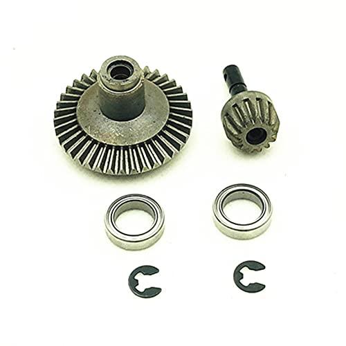 GzxLaY Kit de Engranajes de Metal de 2 uds, Eje de transmisión Delantero Trasero 13T 38T para 1/10 Axial SCX10 Wraith D90, repuestos para Herramientas de reparación