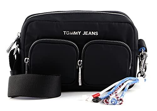 Tommy Hilfiger TJW Fashion Nylon Crossover Black