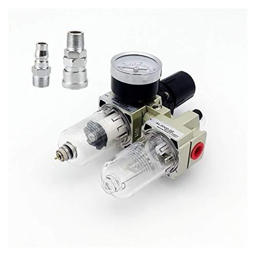 Duradero AC2010-02 Bomba de drenaje manual Bomba de aire Filtro de compresor Filtro de humedad Regulador de presión neumática del regulador de aceite del aceite Fácil de operar