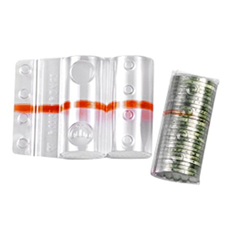 Blister per Monete 20 centesimi (da 50 pz) portamonete fascia rossa