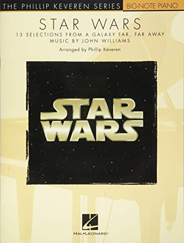 Star Wars: The Phillip Keveren Series Big-Note Piano (Phillip Keveren: Big-note Piano)