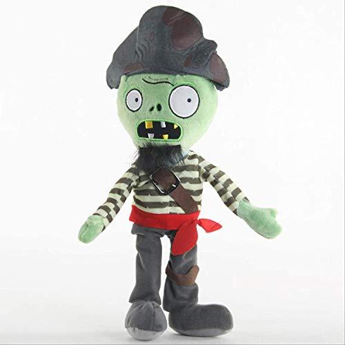 Swashbuckler Zombies Plantas vs Zombies Peluches Juguetes muñecas 30 cm PVZ Suave Peluche Juguetes para niños Regalos para niños Jikasifa