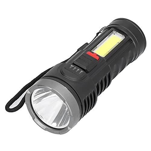 Luz De Emergencia, Linterna Recargable USB Tiempo De Uso Prolongado Para Reparación De Lámparas Para Mantenimiento Eléctrico Para Reemplazo De Piezas De Lámparas Para Piezas De Lámparas
