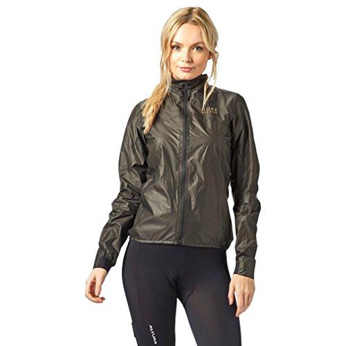 GORE BIKE WEAR Women's Cycling Jacket, Super light, Waterproof, GORE TEX-Active SHAKEDRY, ONE LADY GORE-TEX SHAKEDRY Jacket, Size: 38, Black, JLPORO
