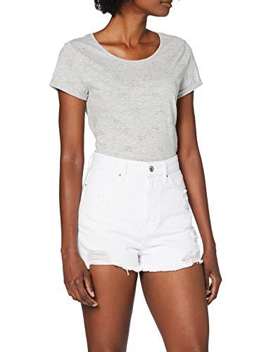 edc by ESPRIT Damen 050CC1C311 Shorts, 100/WHITE, 27