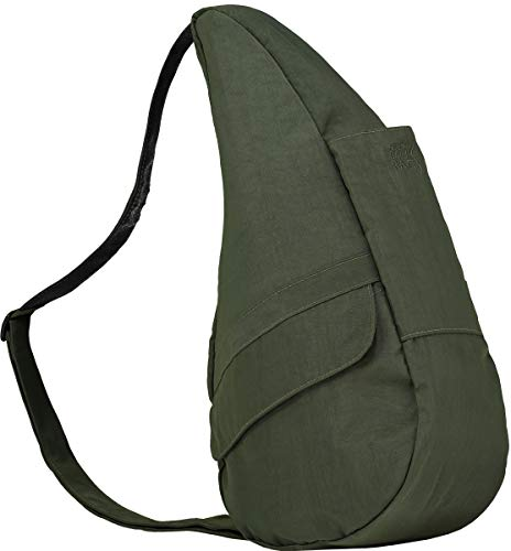 AmeriBag Classic Healthy Back Bag Tote Distressed Nylon Extra Small (Deep Forest)