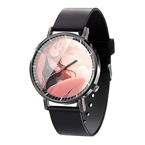 Anime One Piece Serie Armbanduhren 3D Vision Uhren Herren Quarz Analog Armbanduhr mit Kieselgel Armband Serie Unisex Uhr-A3
