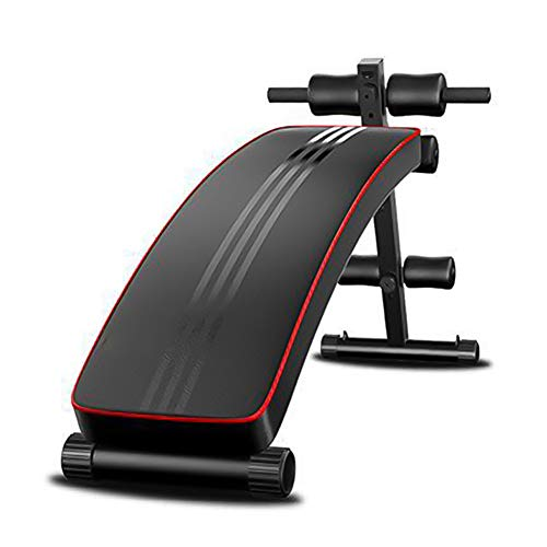 Verstellbare Sitzbank Crunch Board Bauch Fitness Heimgymnastik Übung Mutifunktionelle Fitness Bank Crunch Push-Up,Schwarz