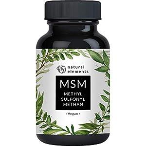 MSM Kapseln natural elements Methylsulfonylmethan vegan