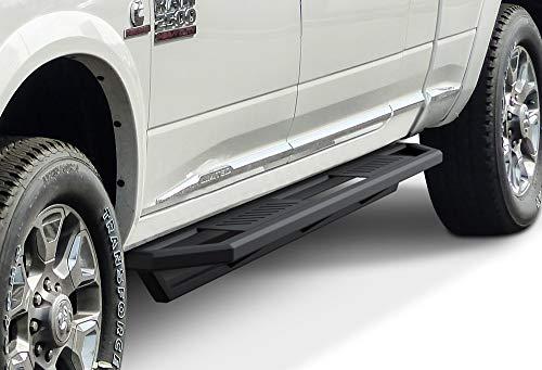 APS iArmor 6.5in Nerf Bars Square Tube 10-21 Dodge Ram 2500 3500 Mega Cab