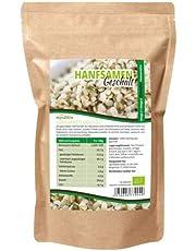 Mynatura Bio hennepzaden geschild 1000 g glutenvrij, cholesterolvrij, voedingsrijk Omega 3 + Omega 6 | Vegetarisch en vegan | geteste biologische kwaliteit (DE-ÖKO-044)