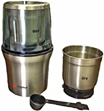 Alpina SF-2815 Coffee Wet and Dry Spice Grinder, Small, Silver