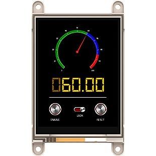 4D Systems Gen4-uLCD-32DT-PI 3.2-Inch Gen4 LCD Pack for Raspberry Pi - Black