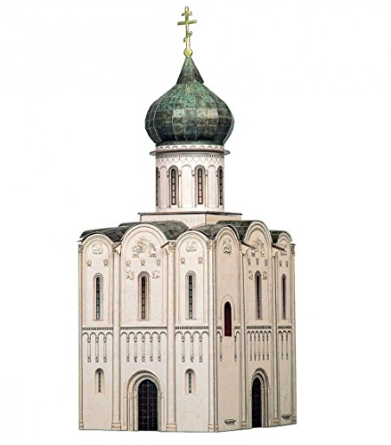 CLEVER PAPER  Puzzles 3D Iglesia de la intersección de Nerl, Rusia (14315)