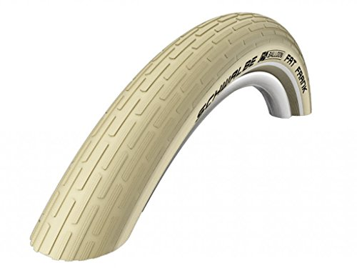 Schwalbe Fahrrad Reifen Fat Frank SBC//alle Größen + Farben, Dimension:60-559 (26×2,35´´), Ausführung:crème Reflex. Drahtreifen