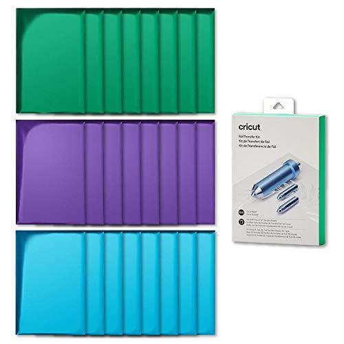 CricutMachine - Kit de transferencia de lámina 3 en 1 (24 ct), 4 x 6