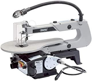 Draper Variable Speed Fretsaw with Flexible Drive Shaft and Worklight