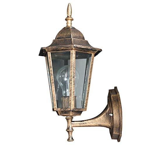 CKH European-American outdoor wandlamp Creative Villa buitenverlichting tuin waterdichte zuil lamp antieke wandlamp