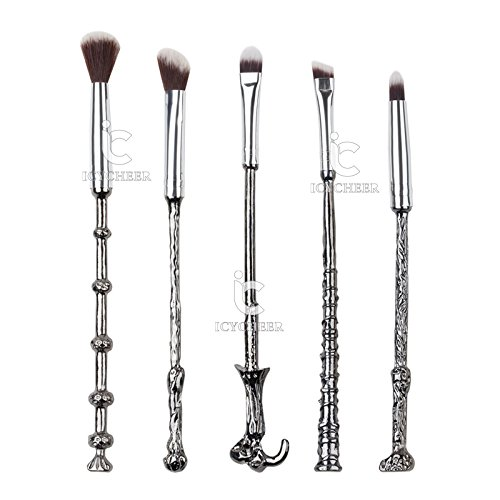 Set di 5 pennelli da trucco ispirati alla saga di Harry Potter
