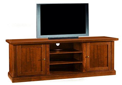 Castagnetti 1928 Verona Portata TV, Tinto Noce, 160x46x56 cm