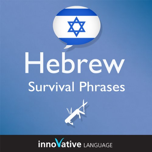 Learn Hebrew - Survival Phrases Hebrew, Volume 1: Lessons 1-30 Titelbild
