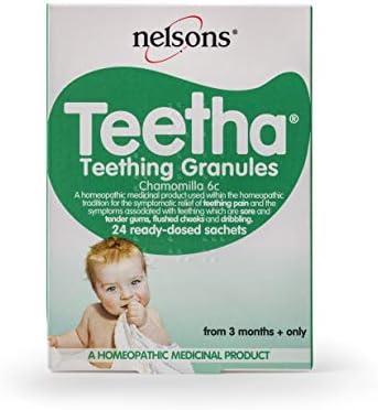 Nelsons Teetha Teething Granules, 24 Sachets