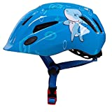 Casque de vélo Casque de Dessin animé équitation Patinage Casque de Sport de Patinage, Dolphin Blue_One Size