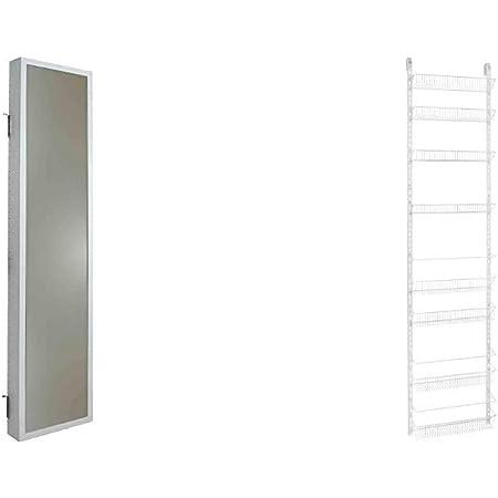 77-Inch Height X 18-Inch Wide ClosetMaid 1233 Adjustable 8-Tier Wall and Door Rack Renewed