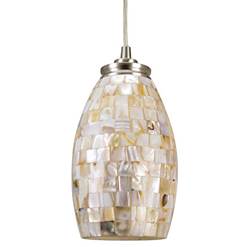 Kira Home Coast 9' Modern Oval Mini Pendant Light +...