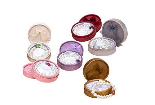 Lote de 10 Elegantes Pulseras de Perlas en Caja(Modelos Surtidos). Bisutería....
