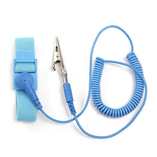 CLJ-LJ Antiestático flexible que arrolla la banda de descarga a tierra de la correa de la herramienta de la pulsera del cordón de soldadura