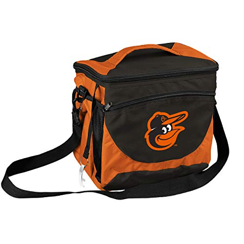 logobrands MLB Baltimore Orioles Cooler 24 Can, Team Colors, One Size