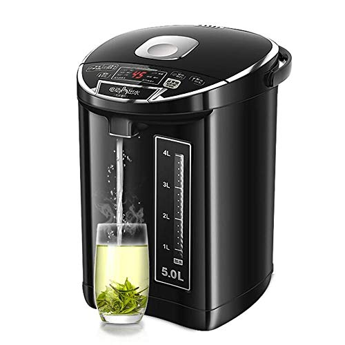 Electric Kettles LIANG, 5 Liter Stainless Steel Water Boiler With Night Light, Water Heater, Teapot With Automatic Shutdown Protection, 7-level Temperature Setting,
