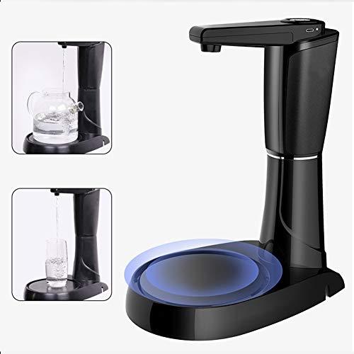 WMC Automatische Wasserpumpe, USB-Bewegliche Drahtlose Wasserpumpe Elektrische Aufladung Trinkwasser-Pumpe Mit Timer Und Fach