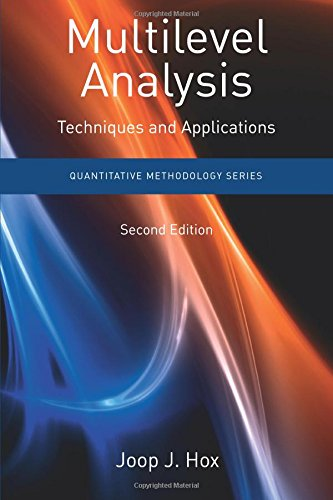 Multilevel Analysis: Techniques and Applications, Second Edition