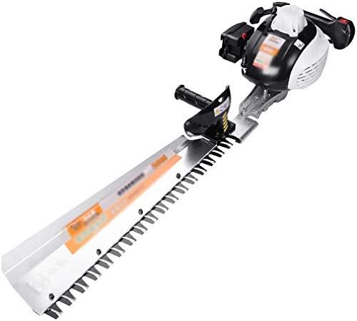 LYYJIAJU Rotary Mowers Hedge Machine,Branch Tea Trimmer,Single Double Knife Garden Tool,Blade Length 650MM (Size : Single Pole)