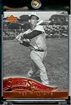 2005 Upper Deck Sweet Spot Classic Baseball Card #86 Ted Williams Boston Red Sox - Mint Condition - In Protective Display Case !
