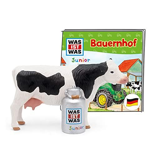 tonies Hörfiguren für Toniebox, was IST was JUNIOR – Bauernhof, Hörspiel für Kinder ab 4 Jahren, Spielzeit ca. 43 Minuten