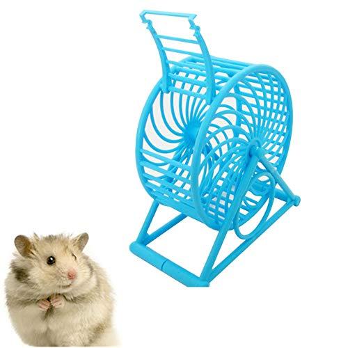 MEISISLEY Roue pour Hamster Roue Hamster Hamster de Roue Silencieux Hamster dans Une Balle Jouet Hamster Ballon d'exercice Silencieux Hamster Roue Blue