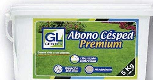 GL CENTER Abono cesped Premium 100 dias 5 Kg: Amazon.es: Jardín