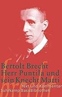 Herr Puntila und sein Knecht Matti Suhrkamp-BasisBibliothek; 50 by Unknown(2015-11)