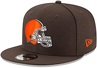30470b935f7 New Era Cleveland Browns Hat NFL Brown 9FIFTY Snapback Adjustable Cap Adult One  Size